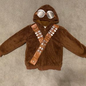 Kids Chewbacca Fleece Hooded Jacket